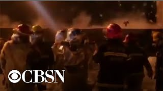 Dozens dead after chemical plant explosion in China