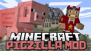 ♠ Mod Review: Pigzilla - It Fell From The Sky - Pig Meteors Mod 1.7.2 ♠