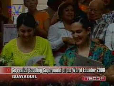 Se realizó Scouting Supermodel of the World Ecuador 2008