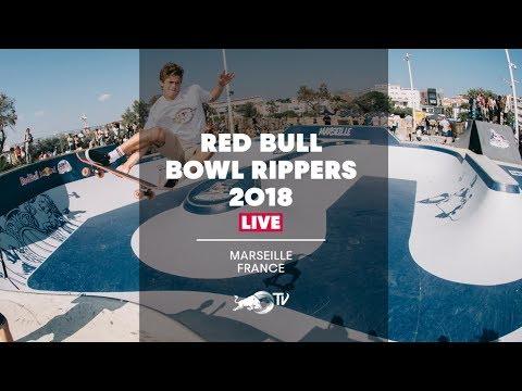 Skateboarding The Legendary Prado Bowl | Red Bull Bowl Rippers 2018 - Marseille, France