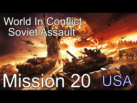 World in Conflict : Soviet Assault FINAL Mission 20