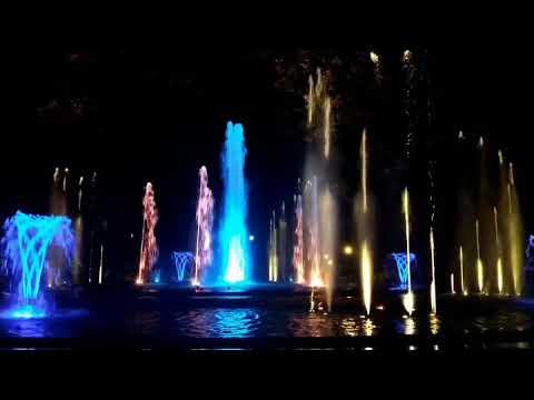 Budapest Margaret Park Fountain
