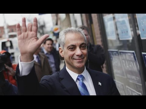 Rahm Emanuel wins Chicago mayoral election