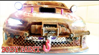 RC DRIFT CAR - POST APOCALYPTIC CAR - Lexan Body Modified   [PART 1/2]