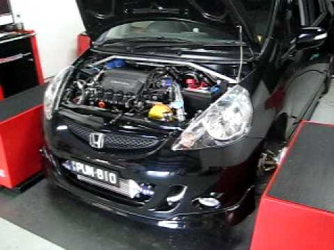 Honda Jazz Hks Turbo Youtube
