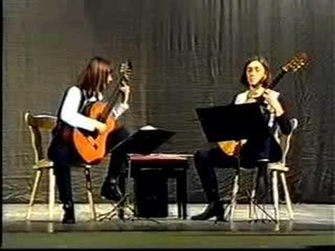 Santiagueña María Luisa Anido The Anido Guitar Duo