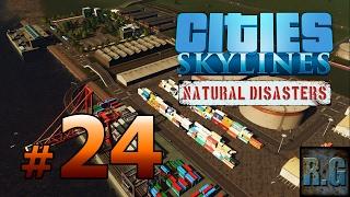 Cities Skylines Natural Disasters - METRÓPOLI #24 - Gameplay Español