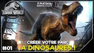 DÉCOUVERTE ET GAMEPLAY - Jurassic World Evolution FR - EP01