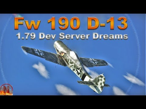 WT || Fw 190 D-13 - 1.79 Dev Server - D Stands for Dream thumbnail