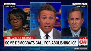 Nina Turner Comes Unglued As Rick Santorum Blames Democrats for Obstructing New Immigration Policy