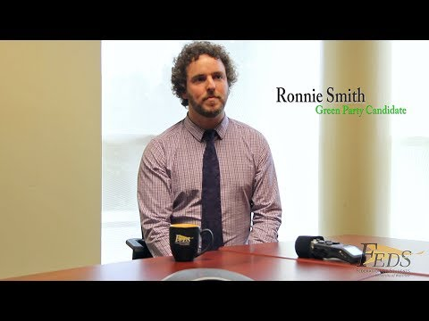 Interview with Ronnie Smith, Green Party of Ontario candidate for Kitchener-Centre