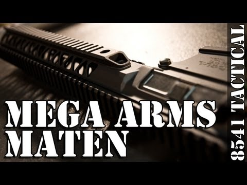 MATEN Build Series 01 - Intro and Mega Arms MATEN Receiver Review