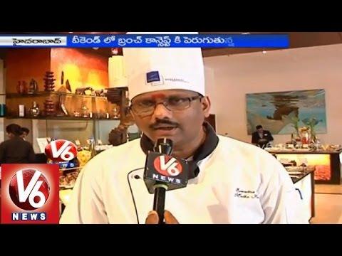 Restaurants attract customers with new menu 'Brunch' food - Hyderabad