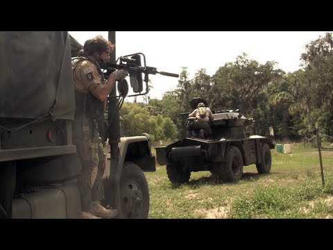 Airsoft War - Armored Convoy. DV8 Airsoft Milsim