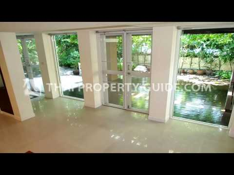 House With Share Pool for rent near Queen Sirikit MRT Station, Bangkok [hspsu0129]