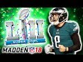 94 NICK FOLES SUPERBOWL VS TOM BRADY!🏆 EAGLES! | Madden 18 Ultimate Team - Jmellflo