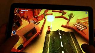 Android Games Guerrilla BOB THD on Galaxy Tab 10.1v Test