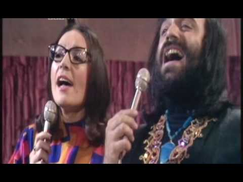 Nana Mouskouri & Demis Roussos - To Gelakaki Video