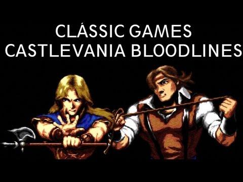 Clássic Gamer - Castlevania Bloodlines