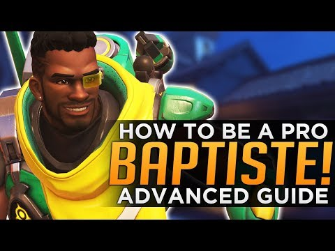Overwatch: How to Be a PRO Baptiste - Advanced Guide
