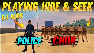 PLAYING HIDE AND SEEK FINDING THESE NOOBS 😂| IN FACTORY AJJU BHAI |#ajjubhai #factoryfreefire||