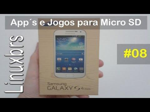 Samsung Galaxy S4 Mini Duos - i9192 - Movendo App´s e jogos para Micro SD - Agora pode !!!!