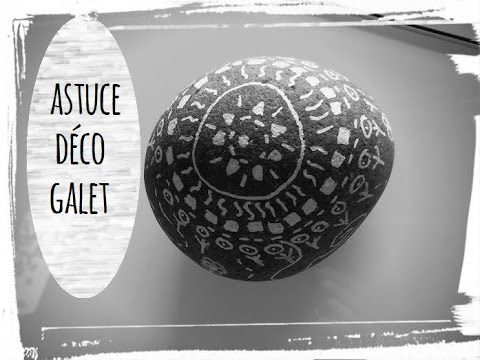 Galet videolike for Decoration de galets