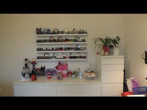 Vlog mon rangement maquillage maj youtube - Rangement maquillage commode ...