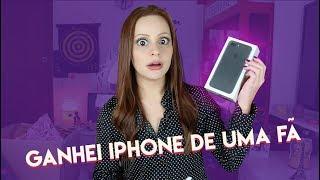 GANHEI IPHONE 7 DE UMA FÃ   Que diabos?