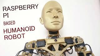 Raspberry PI based humanoid robot
