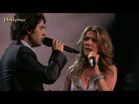 Celine Dion & Josh Groban Live