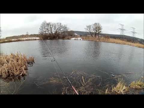 видео о весенней рыбалке в марте
