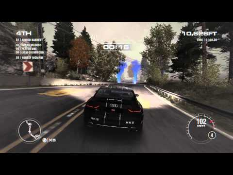 Grid 2 - Audi Rs5 Checkpoint 1080p 60fps
