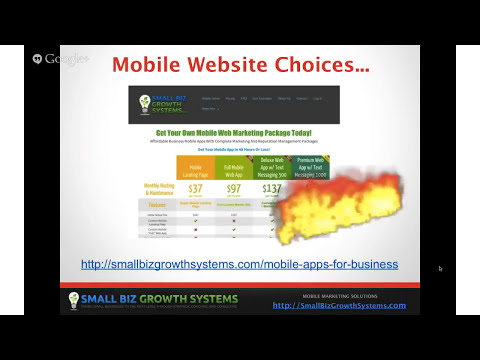 Mobile Web Apps - Small Business Mobile Websites Are Now Critical For Success