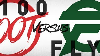 100 vs. FLY - Week 2 Day 1 | NA LCS Summer Split | 100 Thieves vs. FlyQuest(2018)