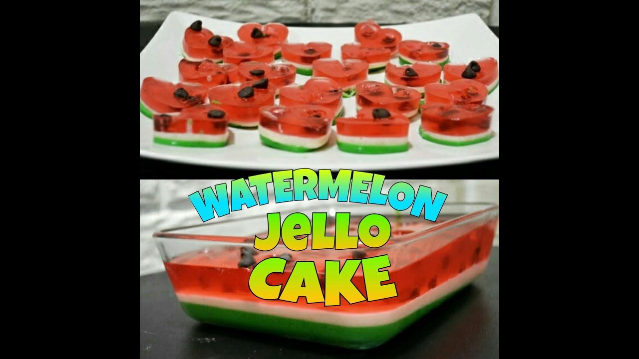 How to Make Jello Cake