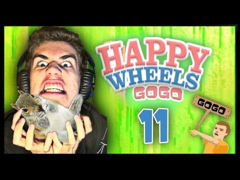 Happy Wheels - [GoGo] - Part.11 - [Slovensky] - Veverička Style !