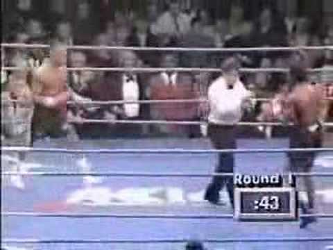 Nigel Benn vs Gerald McClellan [PART 1] Video