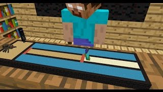 Monster School: Long Jump - Minecraft Animation
