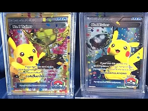 Top 10 Most Expensive Pokemon Cards In The World (2014 Version) video