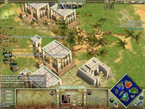 Age of Mythology Titans - islands - using cheat tricks