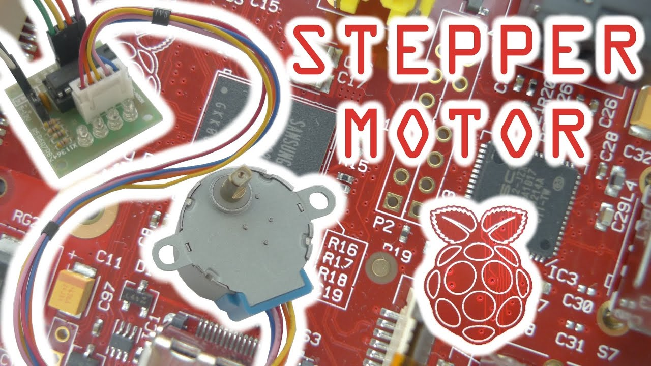 Stepper Motor Control With The Raspberry Pi Youtube