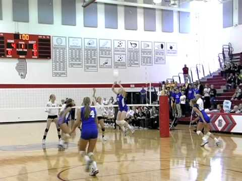 Lyons Township vs Marist Highschool Volleyball