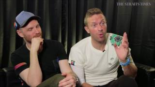 Coldplay Interview Singapore 4/1/17
