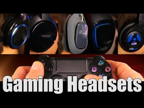 Gaming Headset Review Turtle Beach PX22 vs Astro A40 Recon3D Steelseries H Wireless Sennheiser U320