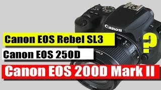 Canon EOS 200D Mark II - review