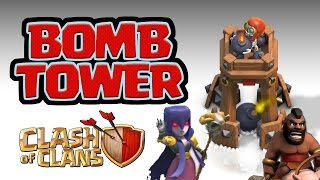 Clash of Clans SNEAK PEEK #3: NEW BOMB TOWER - BUFFED WITCHES & HOGS?
