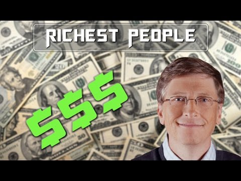 Top 10 Richest People In The World 2015