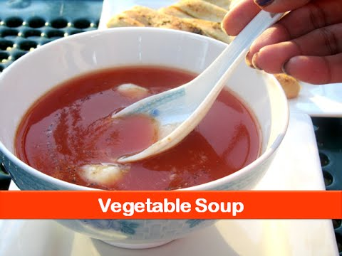 Healthy vegetable soup recipe/mix vegetable soup/ easy soup recipe - by let's be foodie