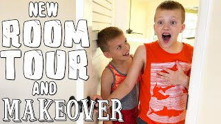 HUGE SURPRISE Bedroom Makeover for David!